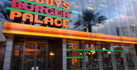 Walk this Flay to Bobby's Burger Palace