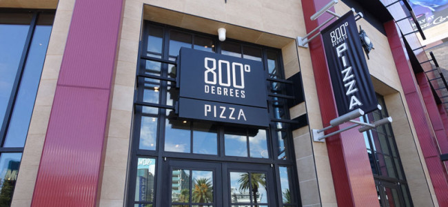 800 Degrees Neapolitan Pizzeria: The Hottest Pizza in Vegas?