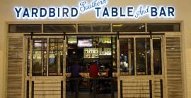 Yardbird Southern Table & Bar Nestles Into Restaurant Row at The Venetian.