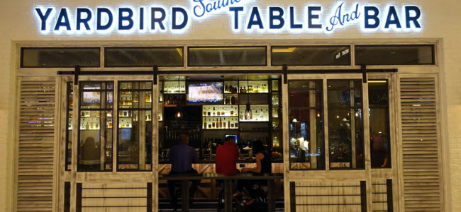 Yardbird Southern Table & Bar Nestles Into Restaurant Row at The Venetian.
