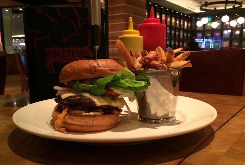 Holstein's El Machete Burger