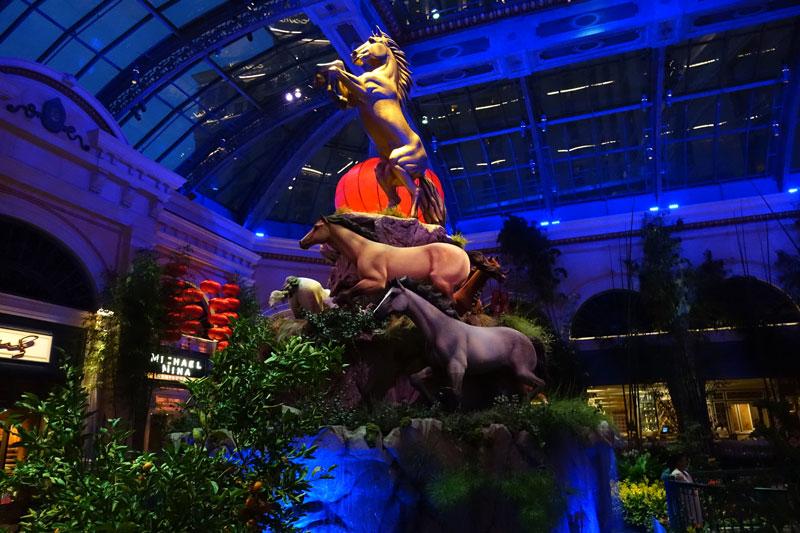 Bellagio Conservatory Horses