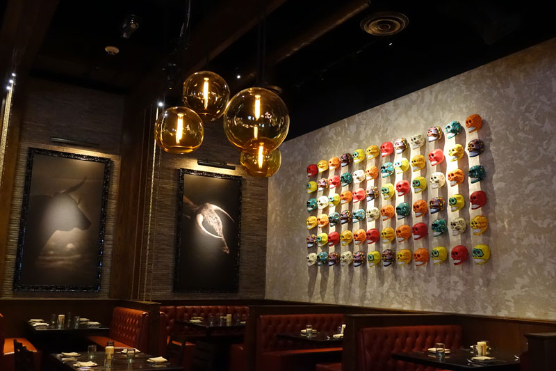 Chayo mexican kitchen opens at the linq for Modern mexican kitchen design