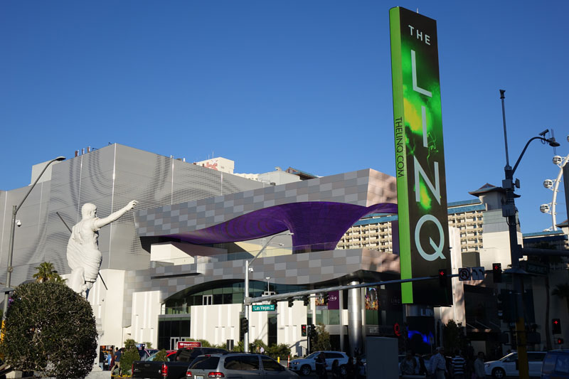 Entrance to The LINQ