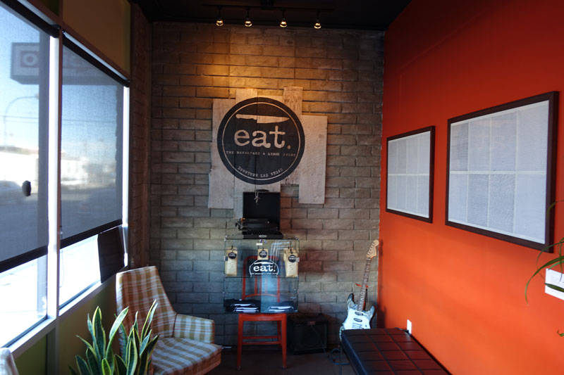 Eat Waiting Area