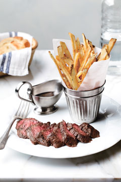 Steak Frites at Bardot
