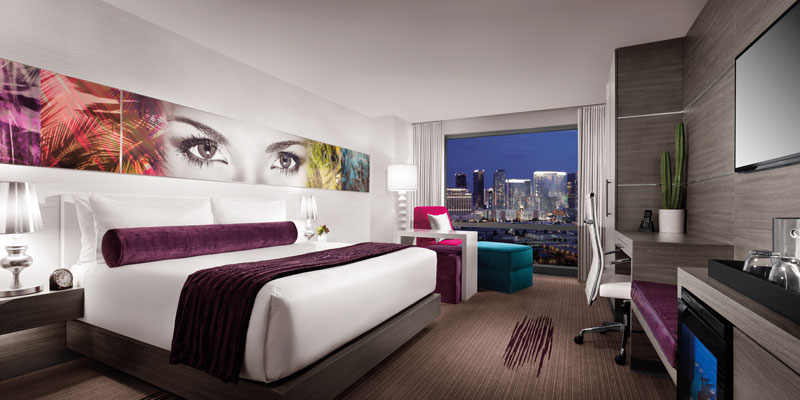 Ivory Tower Guestroom at The Palms