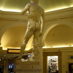 Statue of David at Caesars Palace