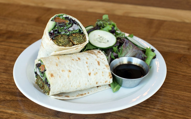Vegan Falafel at MTO Cafe