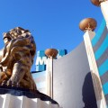 Leo the Lion at MGM Grand