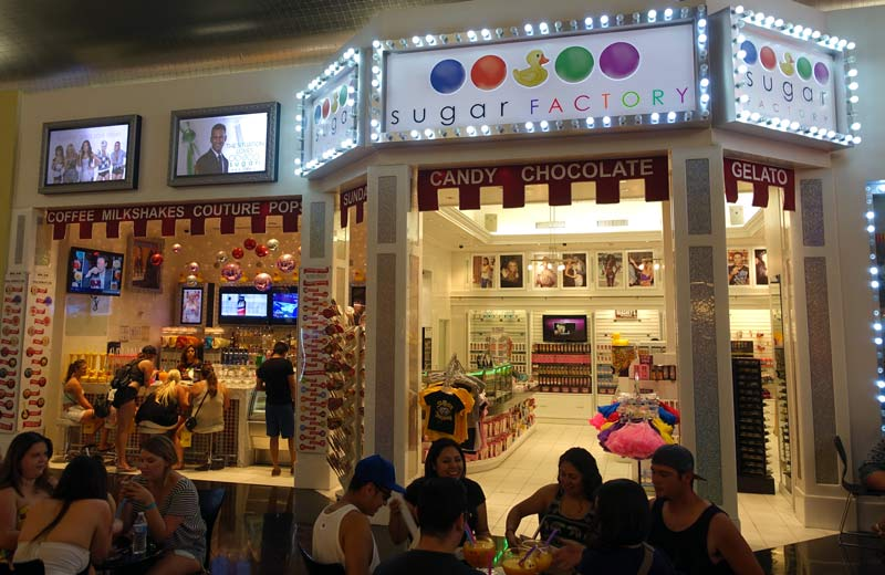 Sugar Factory at Planet Hollywood