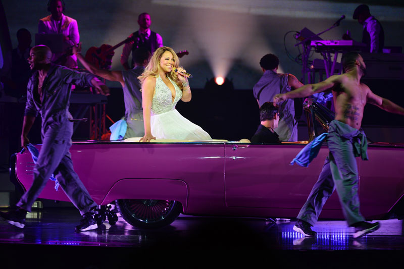 Mariah Carey Pink Cadillac