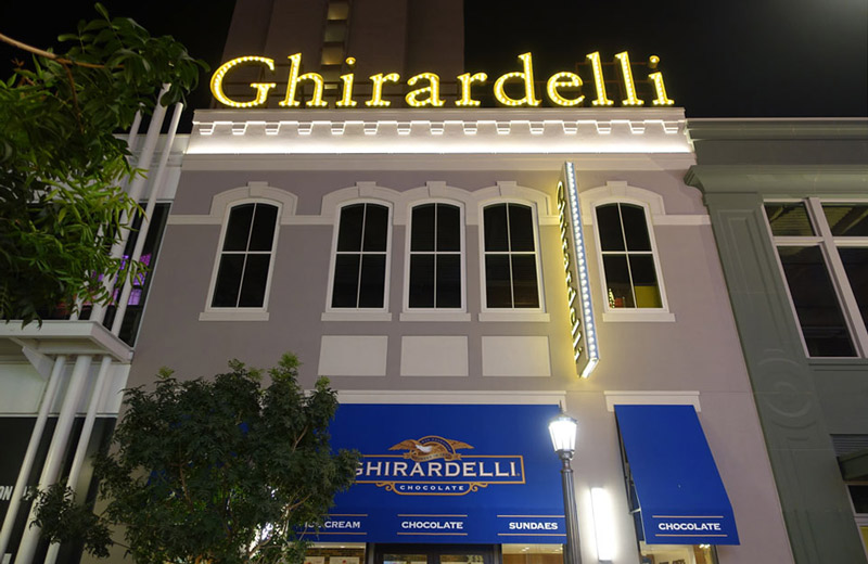 Ghirardelli Ice Cream & Chocolate Shop