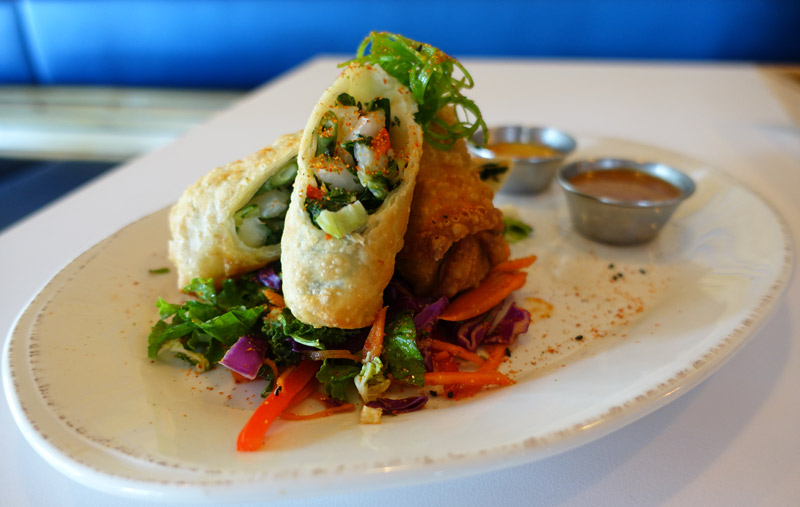 Veggie Egg Rolls at Chow