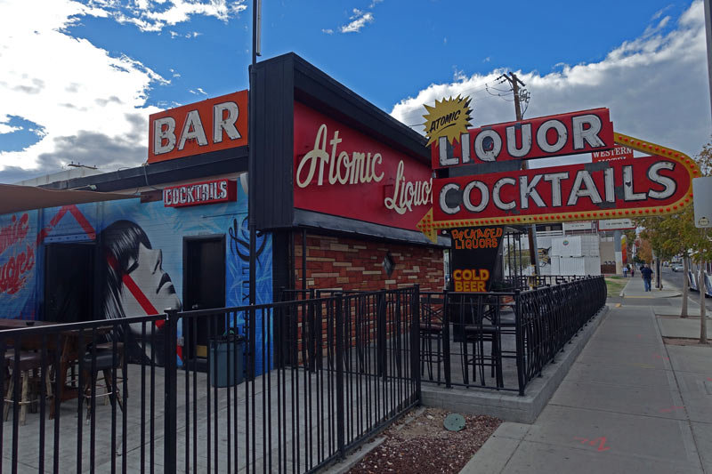 The Shining Jewel That Made Downtown Bar Hopping Great Again, Atomic Liquor  Can Satisfy Any Patron In Some Form Or Another. Their Cocktail List Is  Supreme, ...