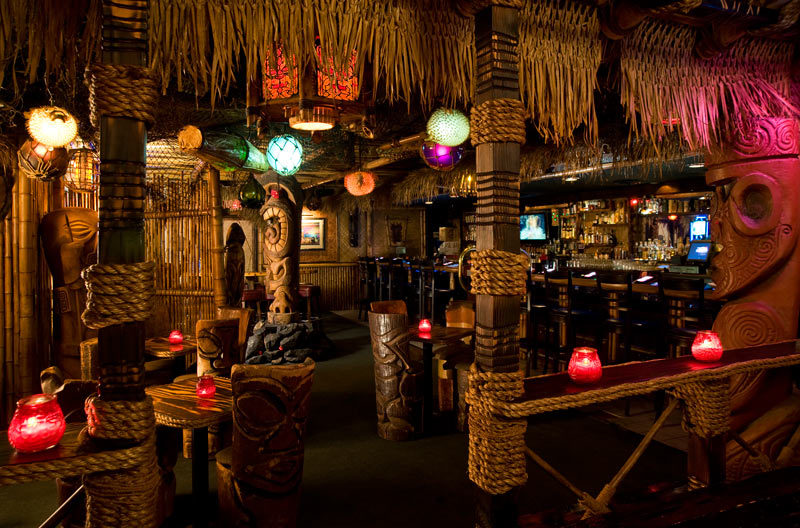 Frankies Tiki Room Menu