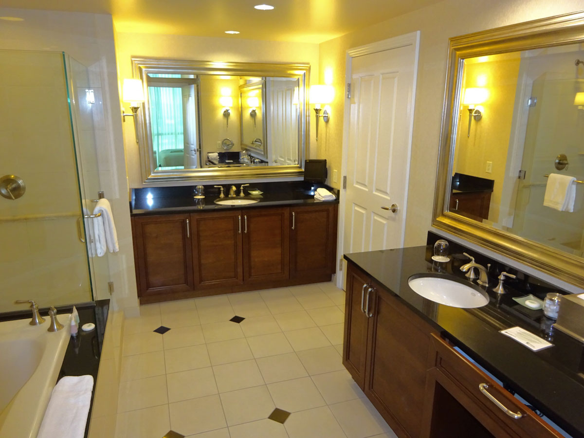 One Bed Suite Bathroom