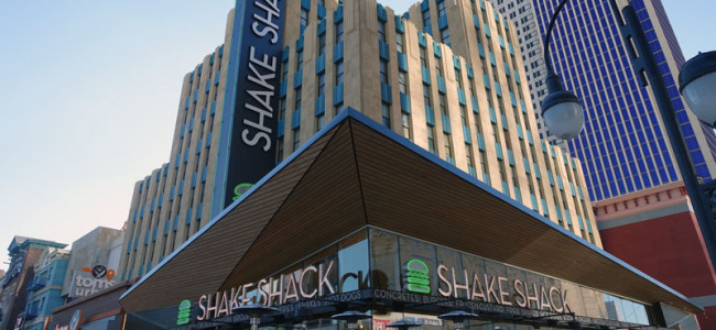 Shake Shack Opens On The Vegas Strip