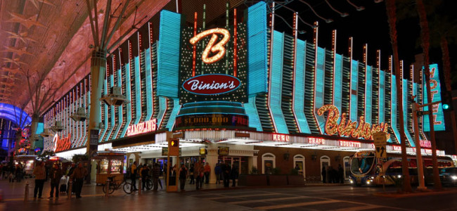 Throwback Thursday Blackjack at Binion's Featuring $1 Blackjack